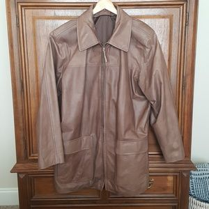 Other - XL worn in leather jacket